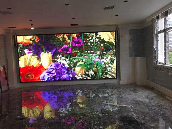 高安市海港花园酒店(高安四中对面)室内P4全彩12平方竣工